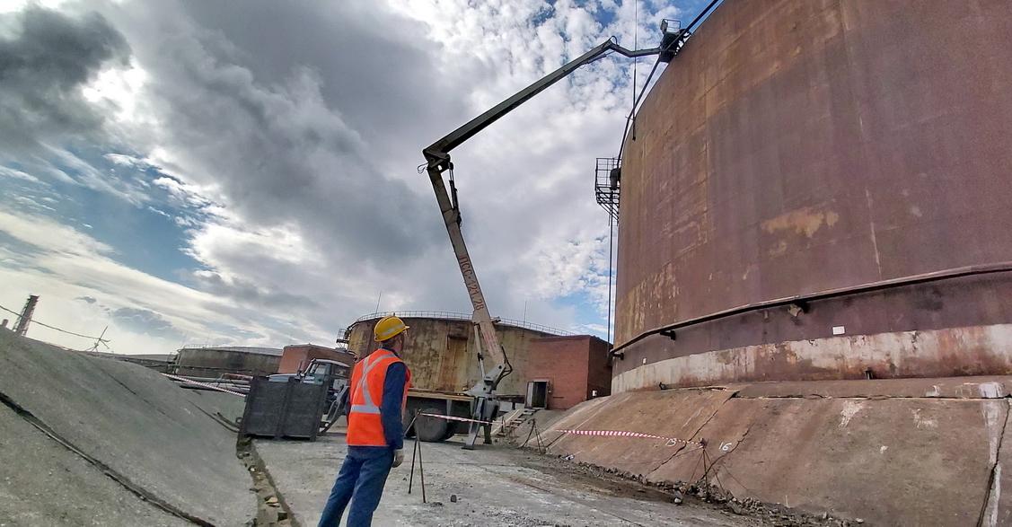 «Норникель» готовится демонтировать цистерну №5 на ТЭЦ-3