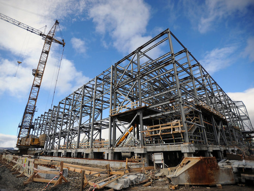 Строительство большого спорткомплекса в Норильске