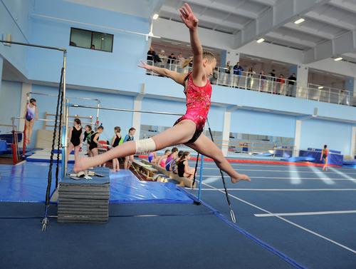 Первенство Норильска по спортивной гимнастике