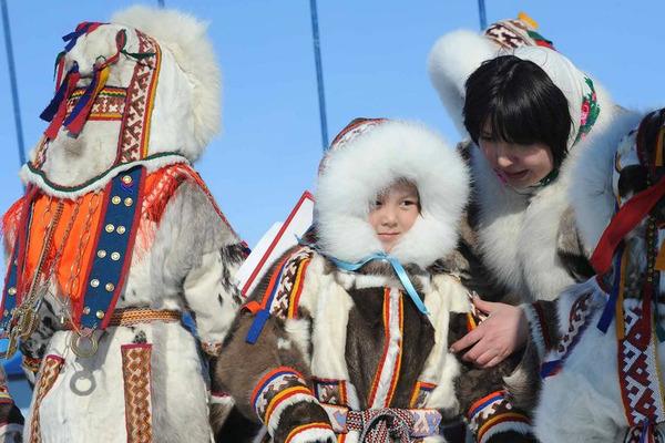 Жители Таймыра показали, как возрождают национальные традиции