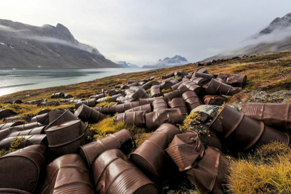 Экологический взвод Минобороны приступил к очистке Арктики