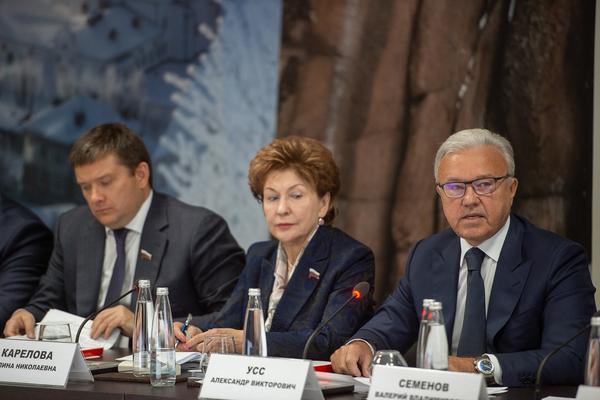 «Норникель» рассказал губернатору, как формируется краевой бюджет