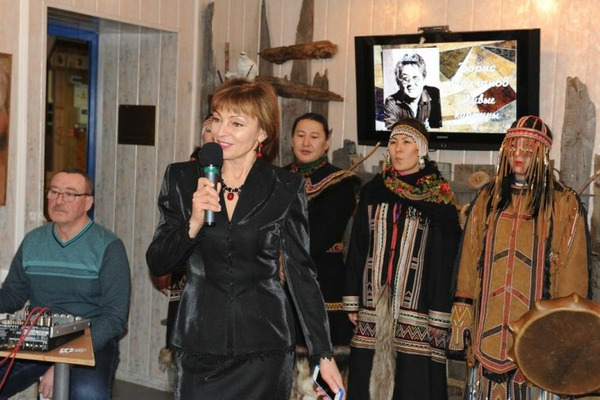 Новый образовательный проект запущен к 80-летию таймырского художника Бориса Молчанова