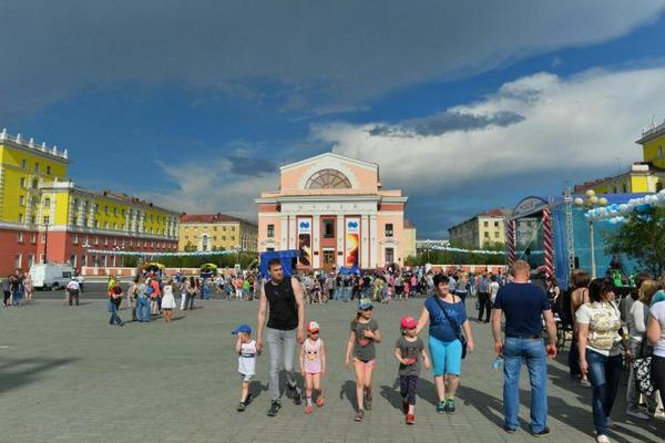Норильчане продолжают масштабно отмечать День металлурга, День города и День компании