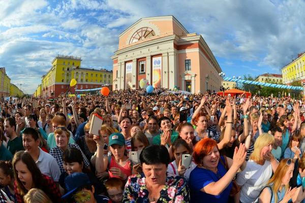 14000 норильчан стали активными участниками празднования Дня металлурга и Дня города