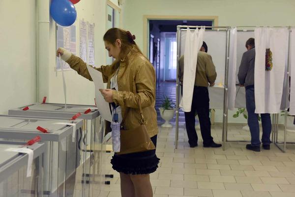 2196 избирательных участков работали в Красноярском крае в единый день голосования