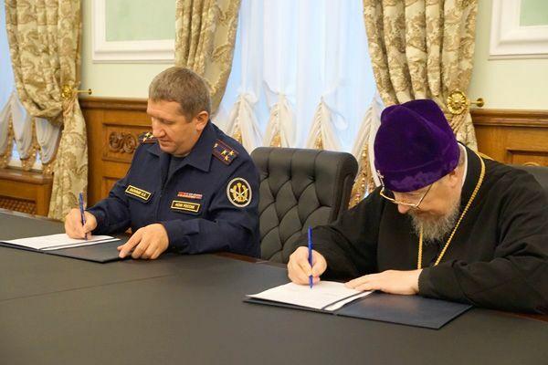 Краевая служба исполнения наказаний расширяет сотрудничество с Красноярской метрополией