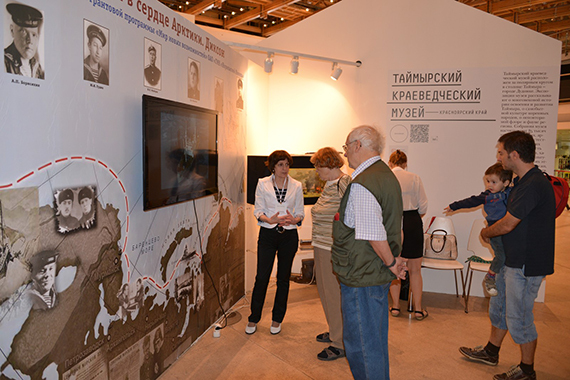 """Мини-диорама """"Бой за Диксон"""" и сенсорный стол с мультимедийной картой ВОВ появились в Таймырском музее при поддержке """"Норникеля"""""""
