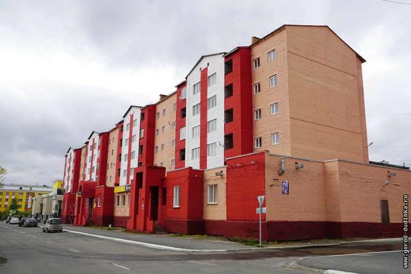 Ярких домов в Дудинке стало больше