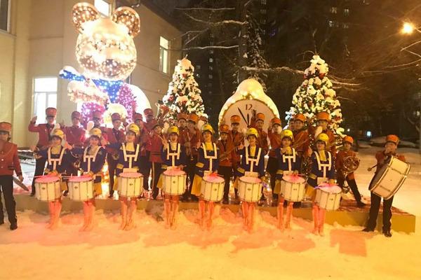 Норильский оркестр BrassBanda с успехом гастролирует в столице