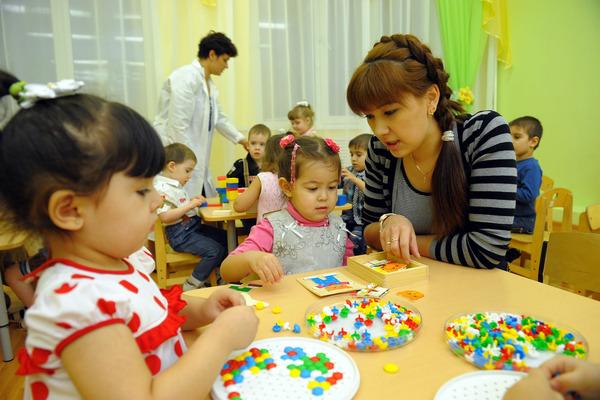 Треть педагогов детсадов Красноярского края – специалисты в возрасте от 30 до 39 лет