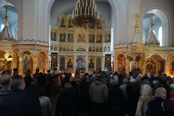 Великий пост начался у православных норильчан