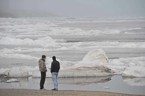 Ледоход в районе Дудинки ожидается в первых числах июня