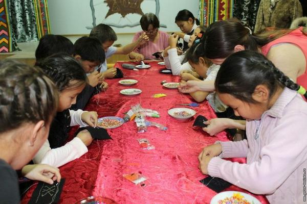 В таймырском поселке Хантайское Озеро прошел мастер-класс, посвященный долганской культуре