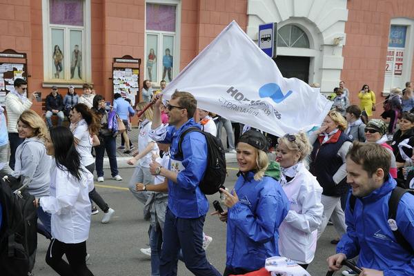 В благотворительном забеге «Норильск, беги со мной!» приняли участие более пяти тысяч горожан
