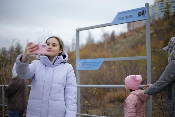 Новое место для селфи: в Талнахе появился музей под открытым небом