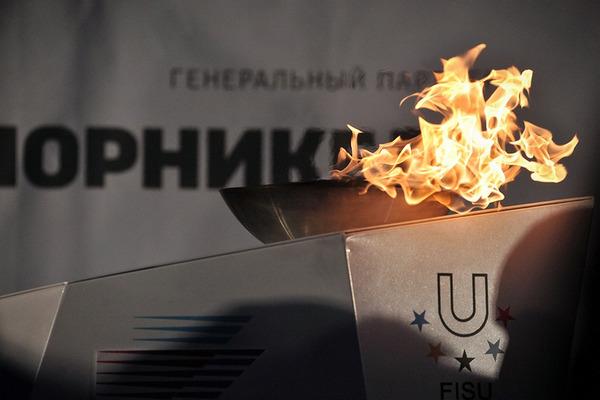 В Норильске зажгли чашу огня эстафеты XXIX Всемирной зимней Универсиады