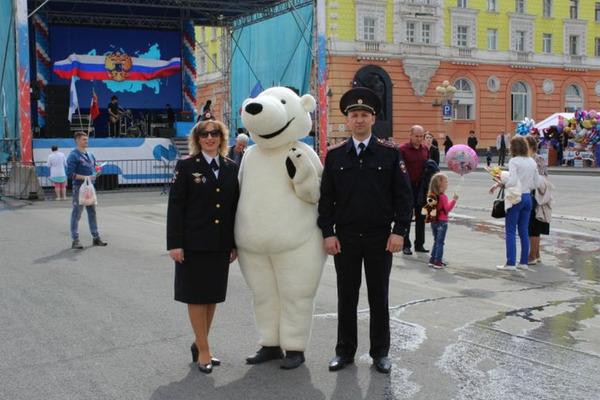 Норильск отпраздновал День России без нарушений