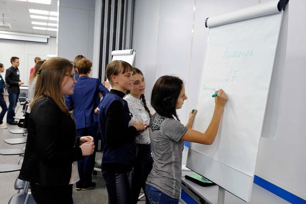 """Профориентационный квест провели для учащихся молодежной бизнес-школы, организованной """"Норникелем"""""""