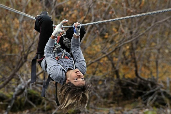 Таймырские спортсменки участвуют в чемпионате страны по спортивному туризму