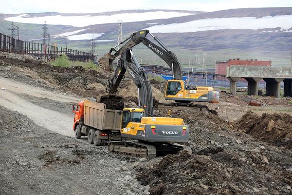 ФОТОВИДЕОХРОНИКА: в Норильске продолжают ликвидировать последствия аварии