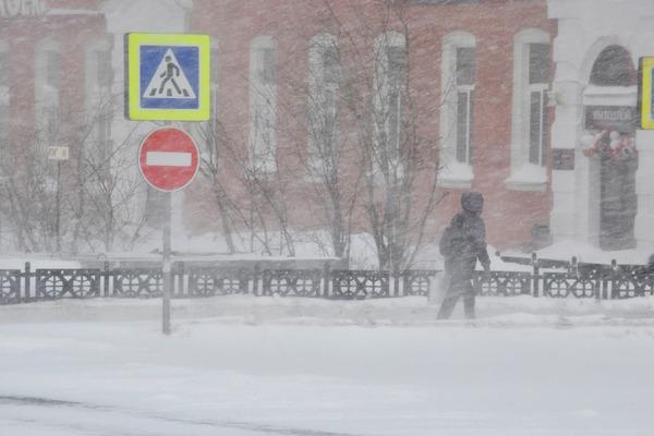 В Норильск пришла полноценная северная зима