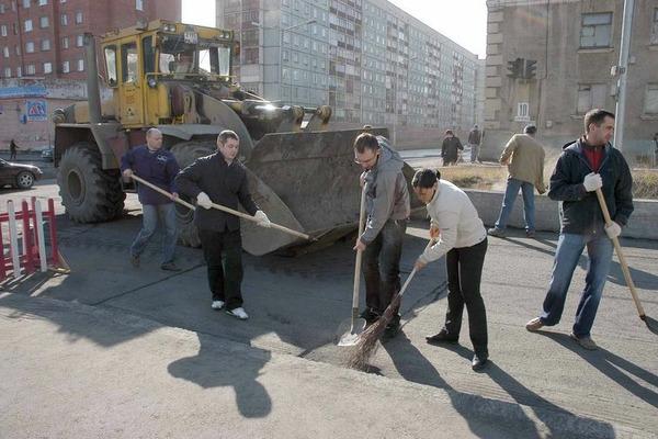 Норильчан приглашают принять участие в общегородском субботнике