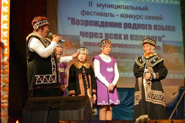 Культуру долганского и нганасанского этносов представили жители семи хатангских поселков на этапе таймырского фестиваля