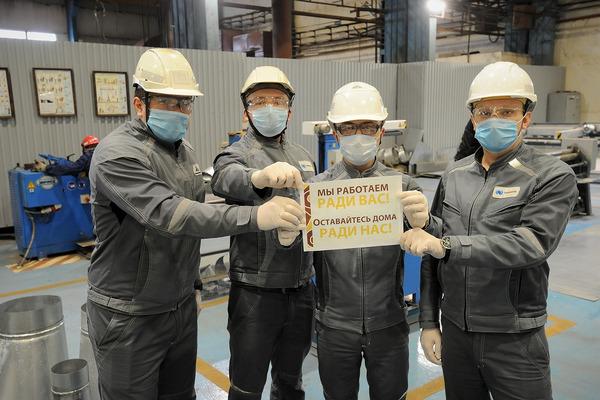 «Таймырский телеграф» и работники «Норильскникельремонта» призывают норильчан оставаться дома