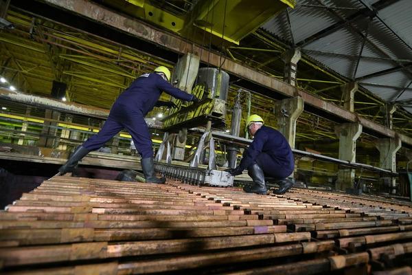 На Медном заводе испытывают новый способ производства катодов