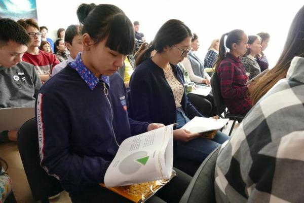 Цикл профориентационных лекций проходит для школьников Хатанги