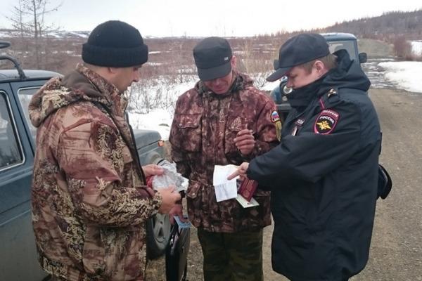 """30 единиц оружия изъяли у таймырцев в рамках операции """"Охотник"""""""