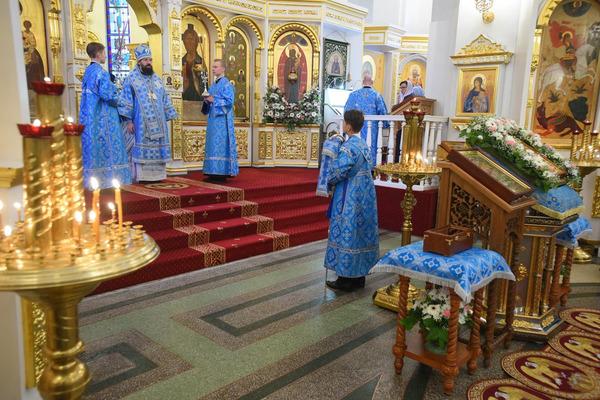 Частички мощей Спиридона Тримифунтского навсегда останутся в Норильской епархии