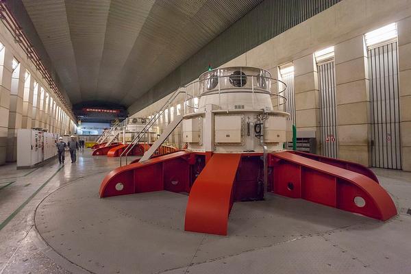 На Усть-Хантайской ГЭС запустили шестой гидроагрегат