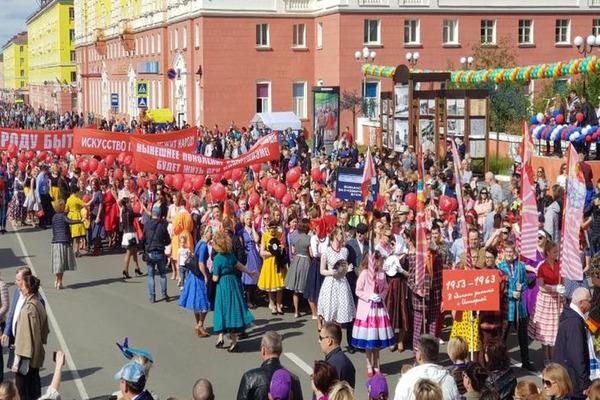 Почти 20 тысяч норильчан приняли участие в праздновании юбилея города