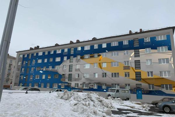В Норильске появятся новые арт-фасады