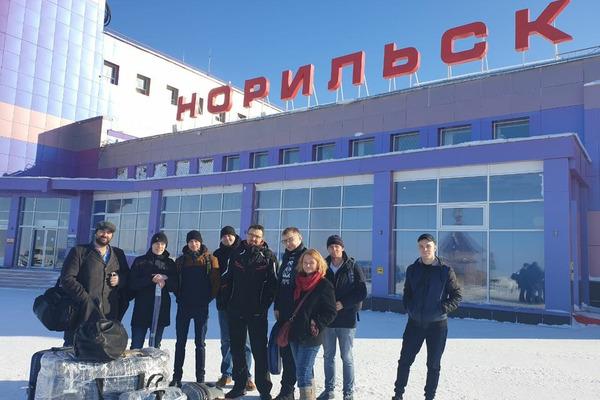 Сегодня в Красноярск на «Театральную весну» отправился очередной десант из Норильска