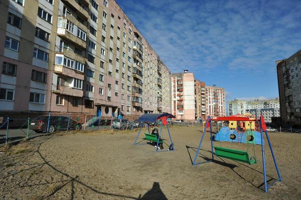 Детская площадка у дома №10 по улице Талнахской стала абсолютным лидером голосования по благоустройству