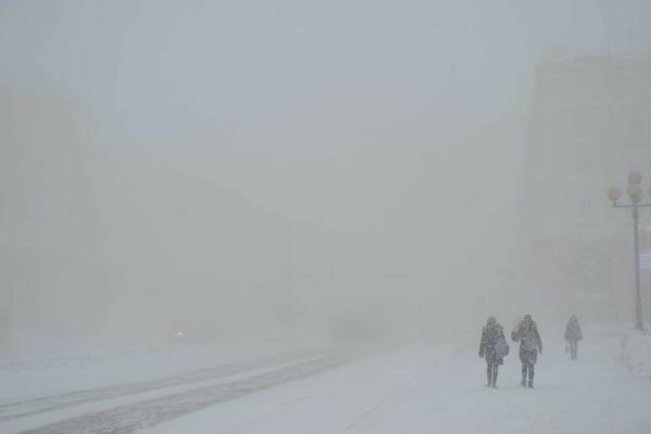 Штормовое предупреждение по ветру действует в Норильске