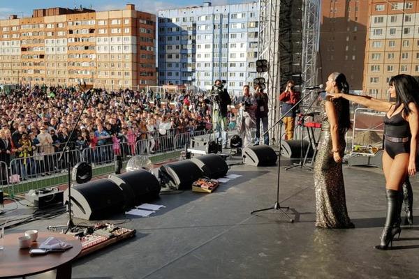 Известные российские группы и исполнители выступили перед норильчанами