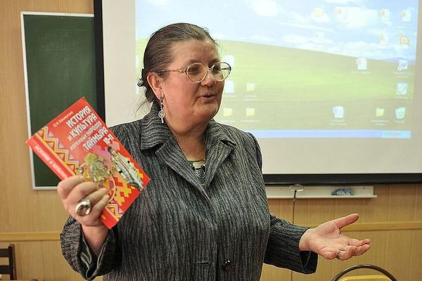 Десять лет назад вышел учебник по истории и культуре коренных народов Таймыра