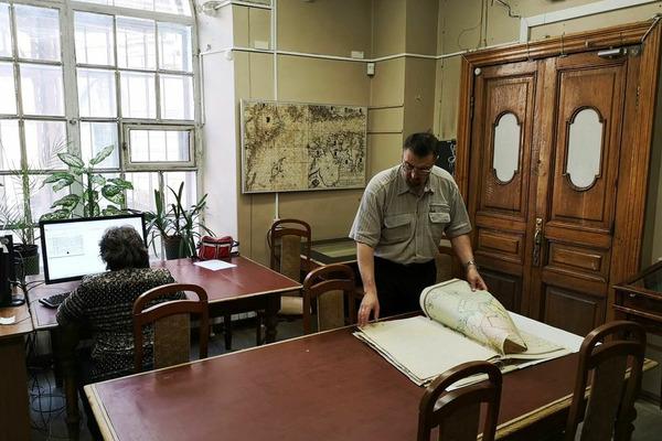 В архивах Российской национальной библиотеки нашли неизвестную ранее карту Таймыра