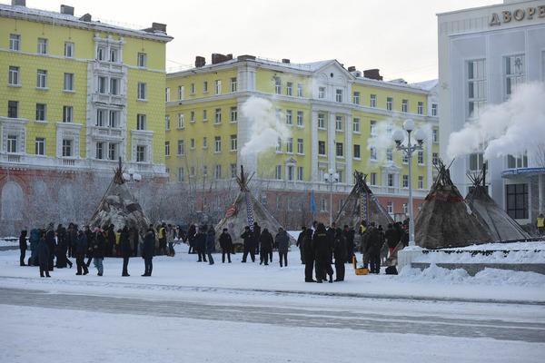 В Норильске проходит фестиваль Большой Аргиш
