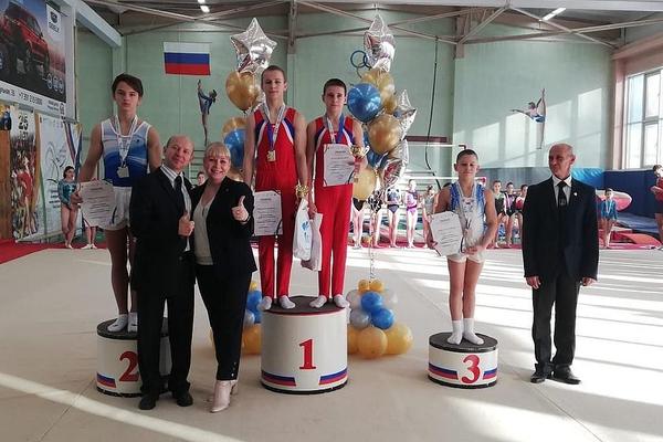 Норильский гимнаст стал победителем и призером всероссийских соревнований
