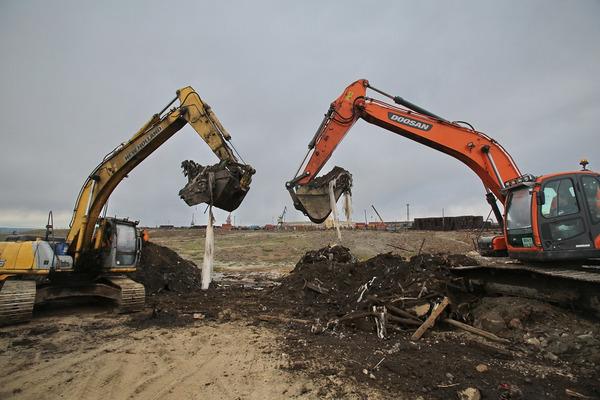 Более 46 тысяч тонн загрязненного грунта вывезли с территории ТЭЦ-3