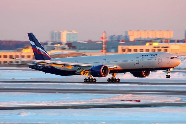 «Аэрофлот» уменьшил количество запланированных рейсов в Норильск