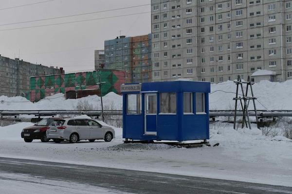 Автобусная остановка-павильон открылась у АБК рудника «Комсомольский»