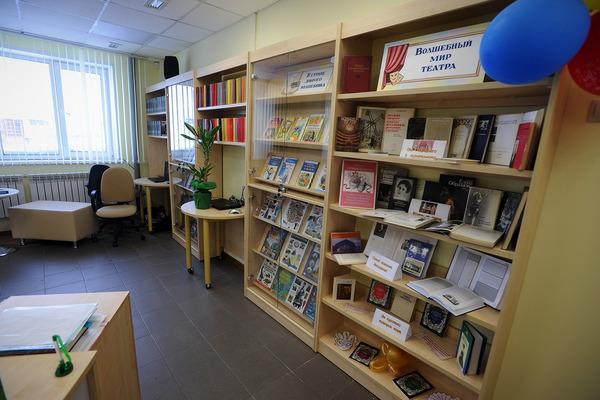 В Норильске сегодня открылась новая библиотека