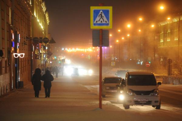 В Норильске досрочно включат новогоднюю иллюминацию
