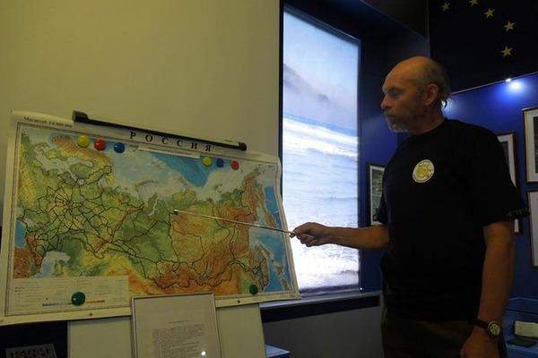 От Норильска до устья реки Лены за 90 дней пройдет путешественник Виктор Атласов